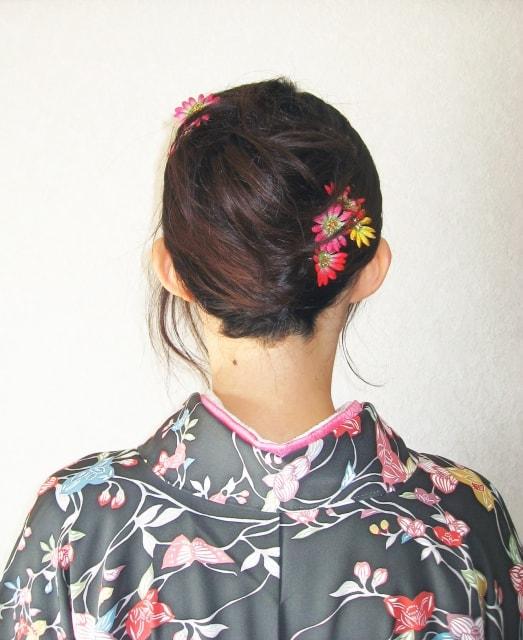 母親の入学式の髪型